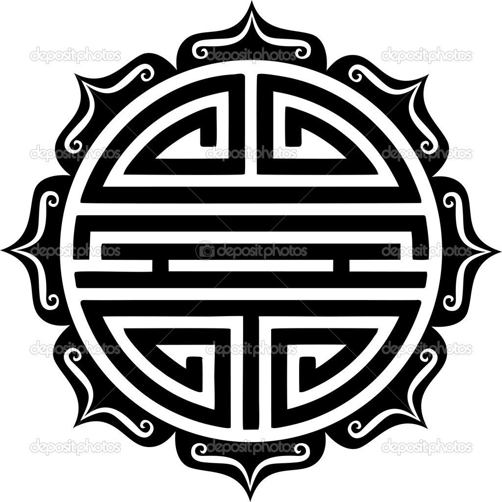 Shou symbol lotus chinese good luck charm embols shou symbol lotus chinese good luck charm buycottarizona Images
