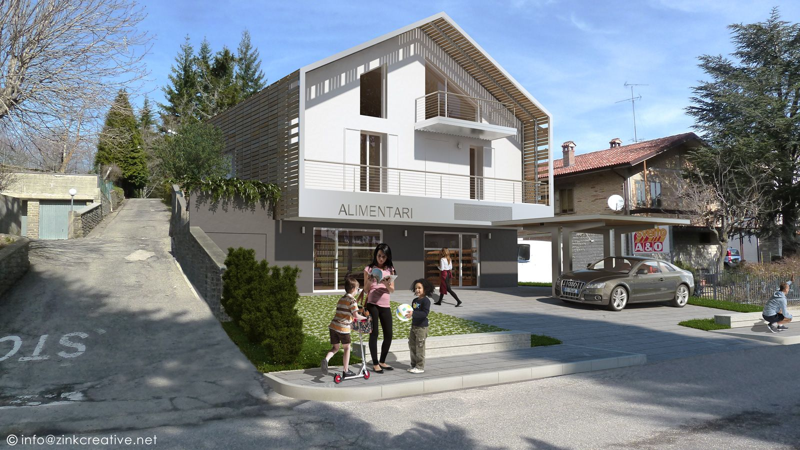 Housing in Acquapartita credits: Arch'es and partners, 2013