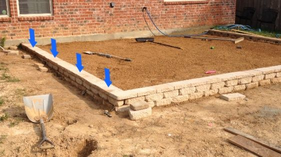 How To Build A Paver Patio On A Slope Paver Patio Slope