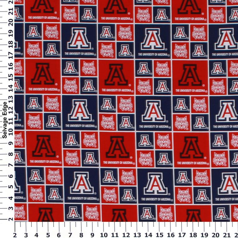 University of Arizona Cotton Fabric Collegiate Team