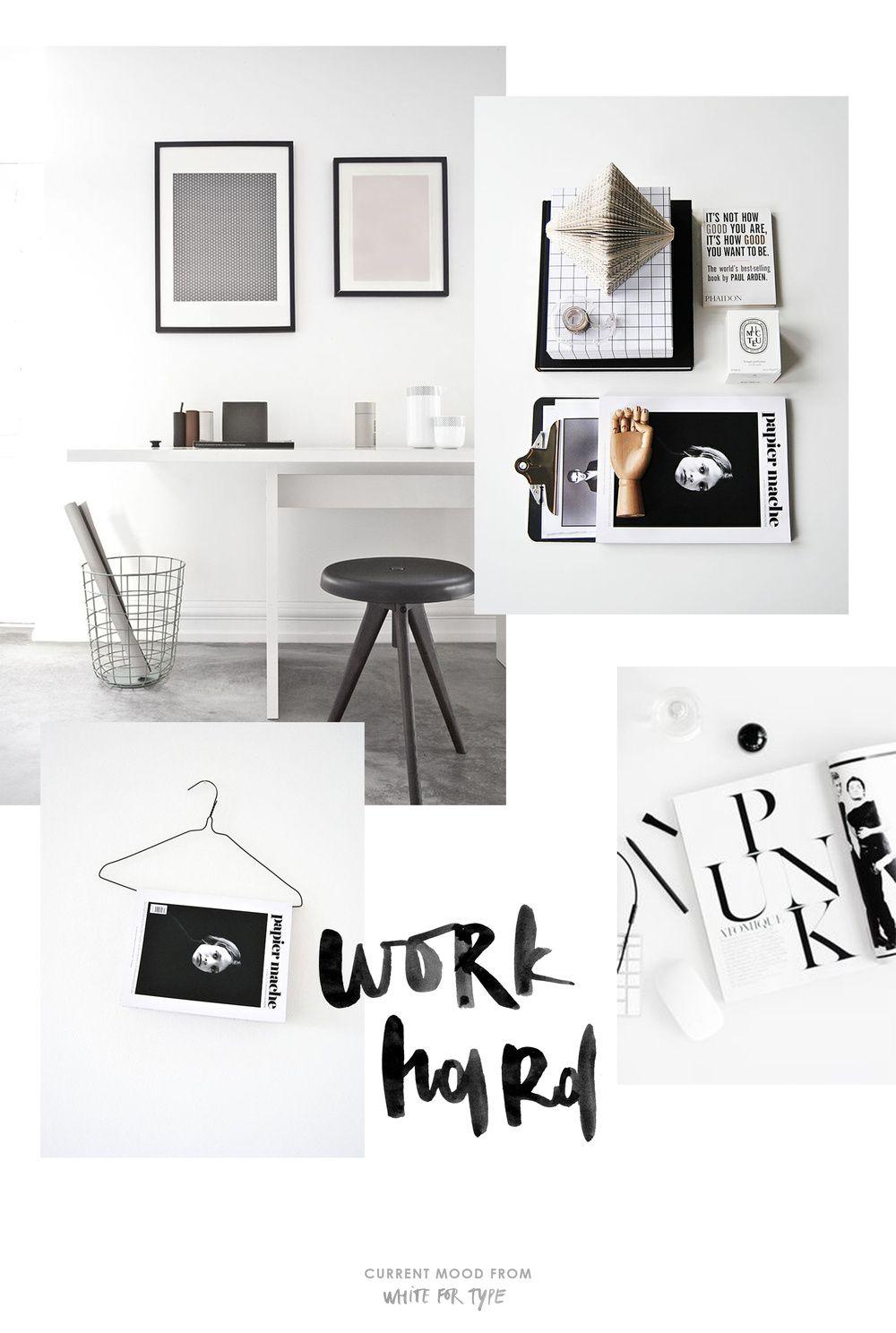 CURRENT MOOD: WORK HARD