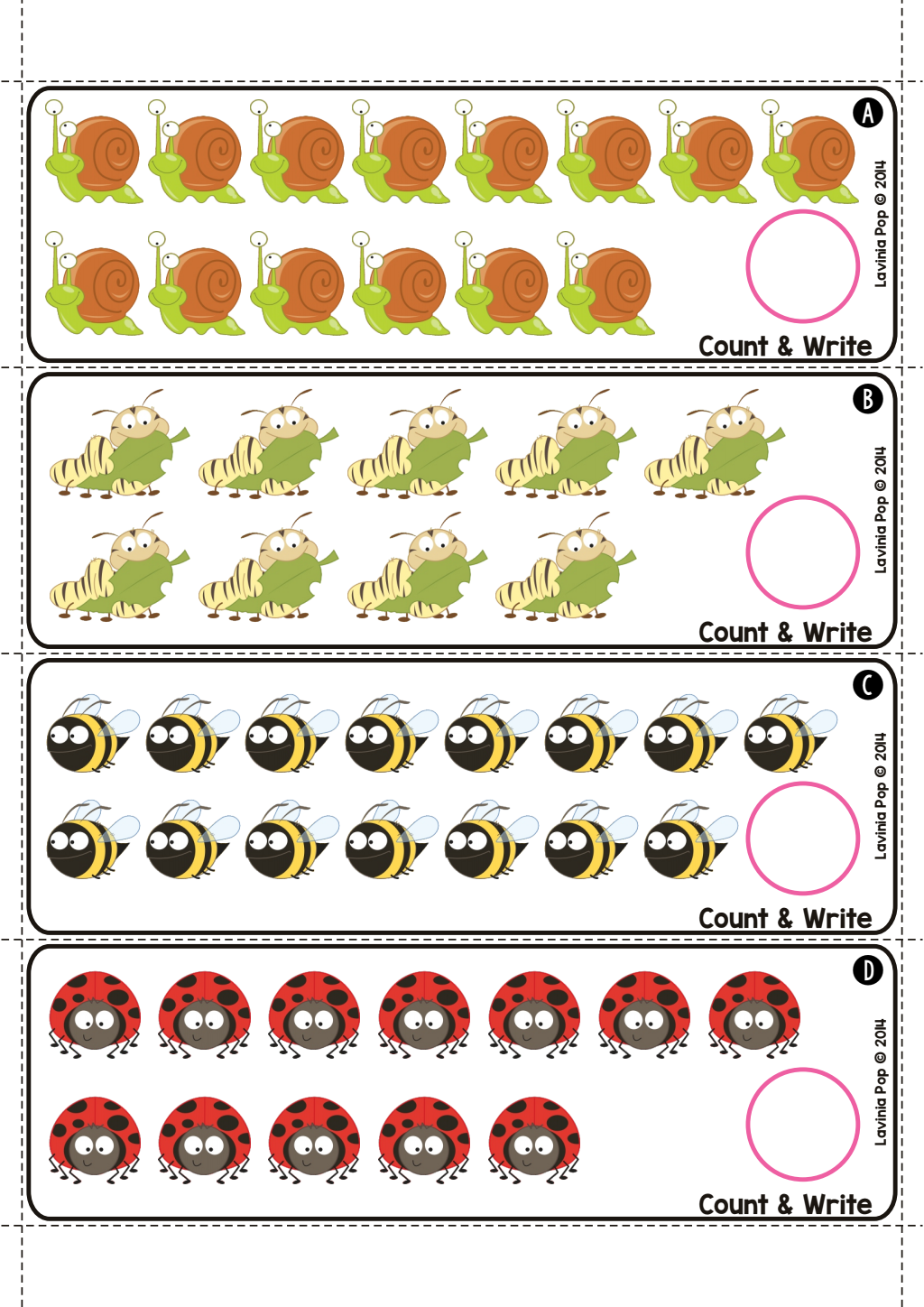 Count and Write.pdf Google Drive Spring math center