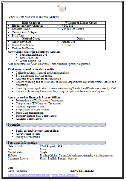 Resume Format Free Download Page 2 Tax Dissertation Examples Example