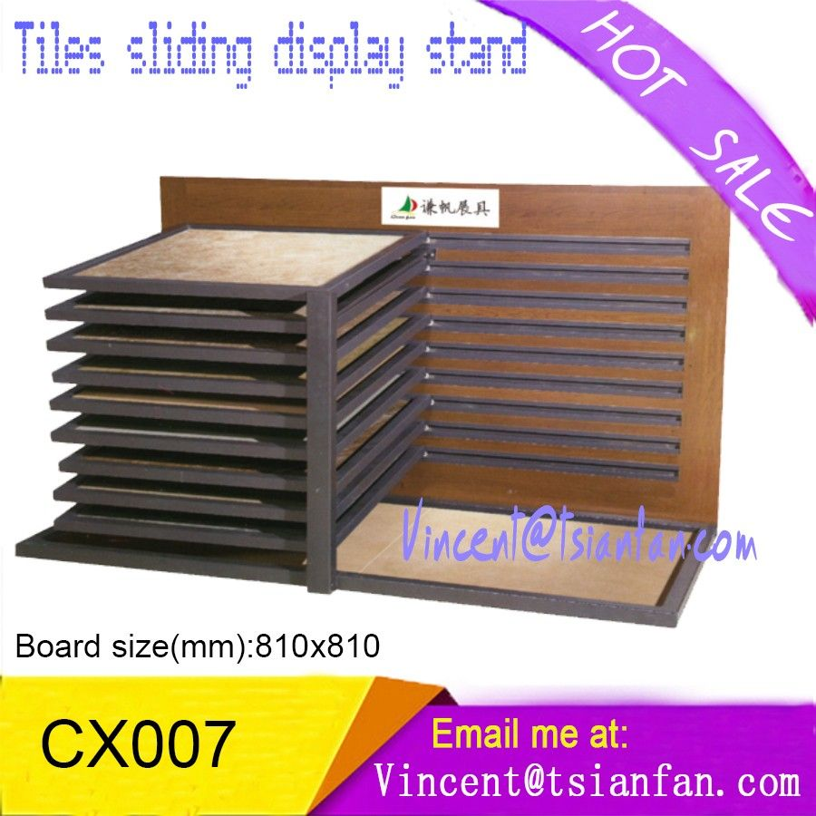 Cx007 ceramic tiles sliding display rack for showroom view ceramic cx007 ceramic tiles sliding display rack for showroom view ceramic tile display rack metal racks for shops metal racks for shops product details from dailygadgetfo Image collections