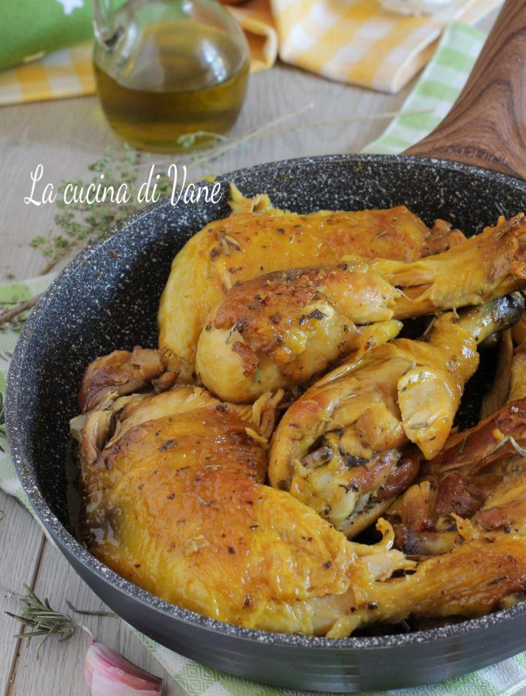 Pollo Arrosto In Padella Tenero Succoso Non Asciutto Come Al Forno Pollo Pollo Arrosto Ricette Pollo