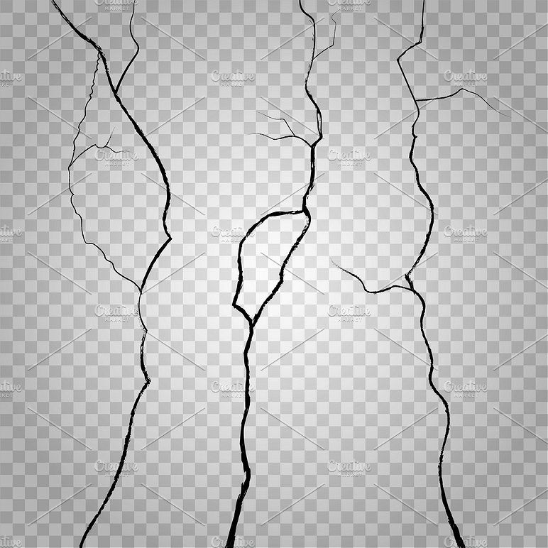 Vector wall cracks #Crack#background#effect#rough | Shadow People