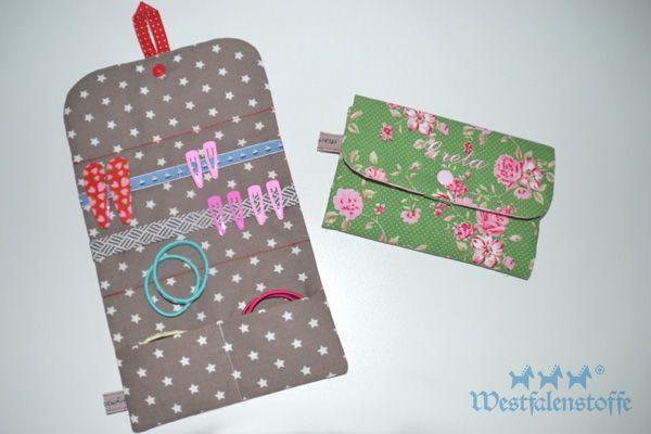 Tutorial: Haarspangen-Utensilo zum Aufhängen | táskák | Pinterest ...