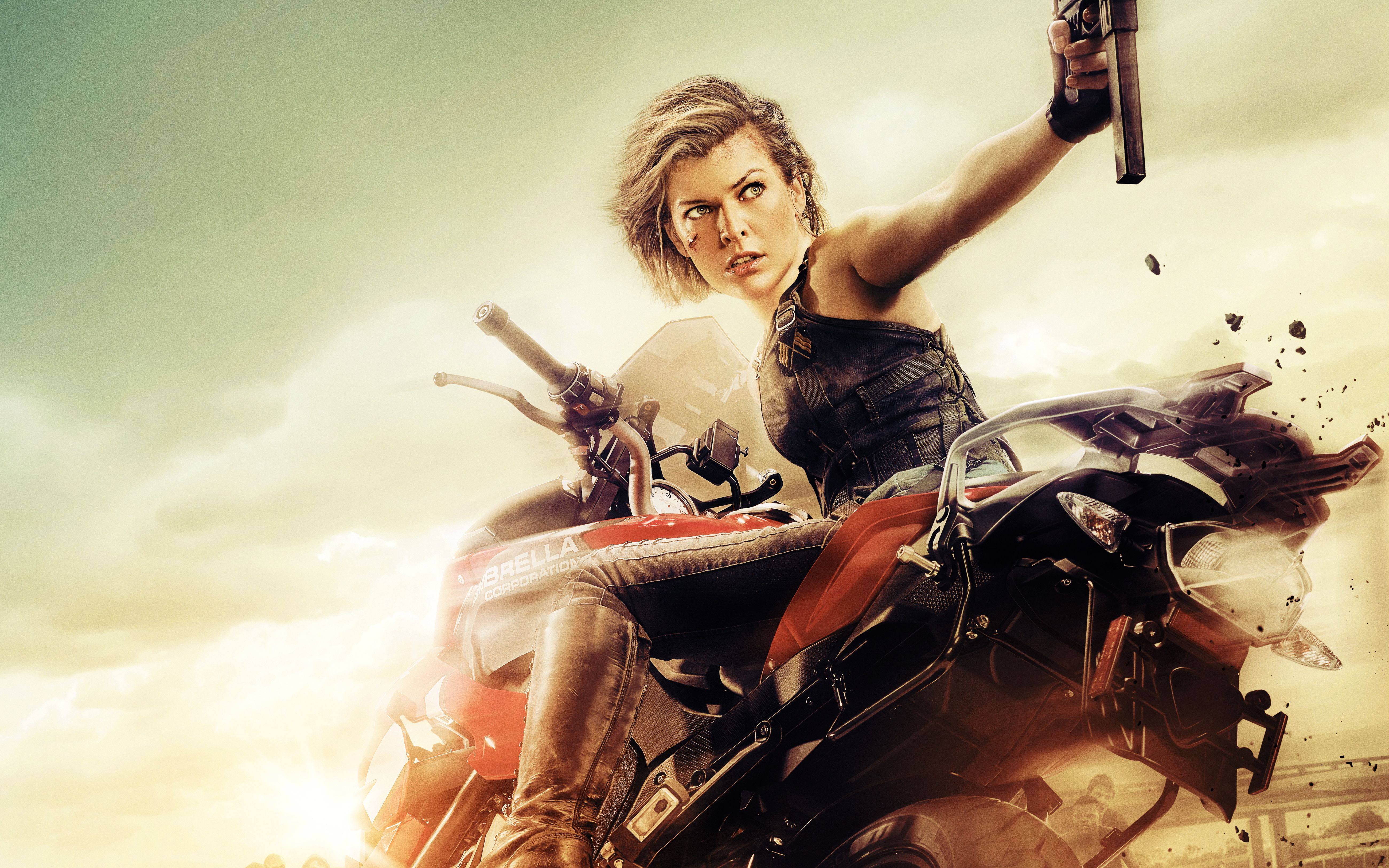 Milla Jovovich Resident Evil The Final Chapter - This HD wallpaper is based  on Resident Evil: The Final Chapt… | Resident evil, Resident evil alice,  Milla jovovich