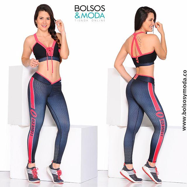 786c1149f953f Conjunto Fit Negro - Ropa Deportiva Moderna y Original Para Mujer   ropadeportiva
