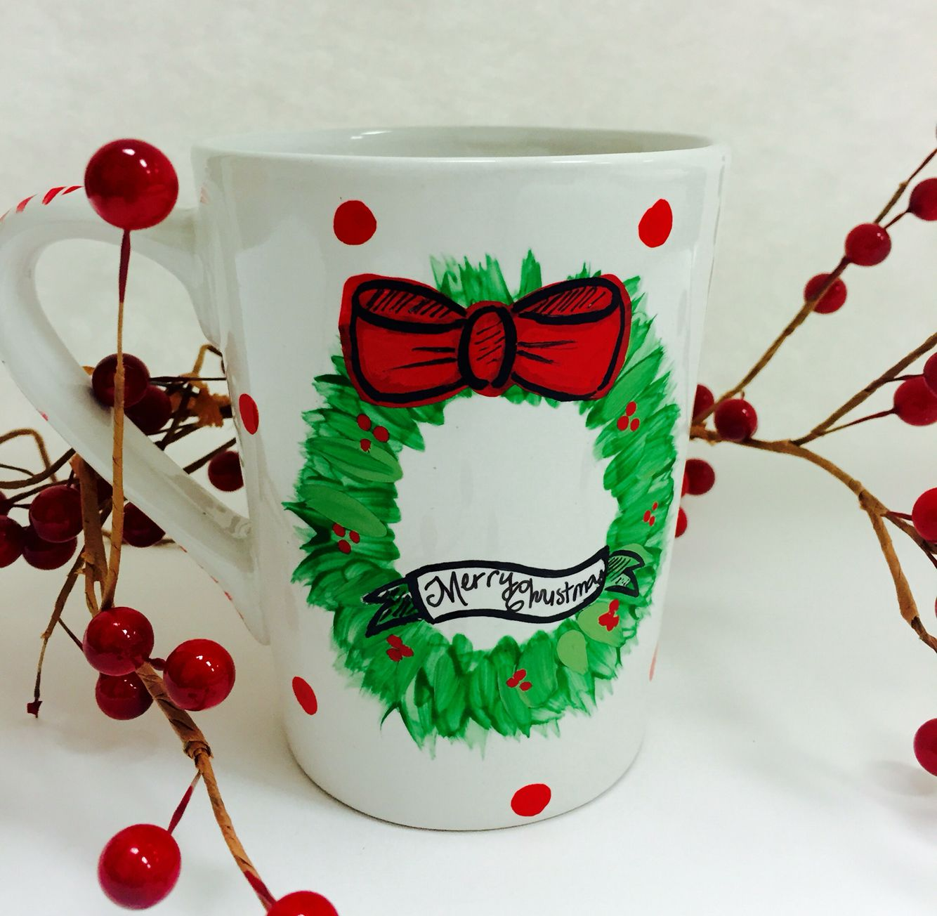 Christmas mug from the artroom and crafts $10
