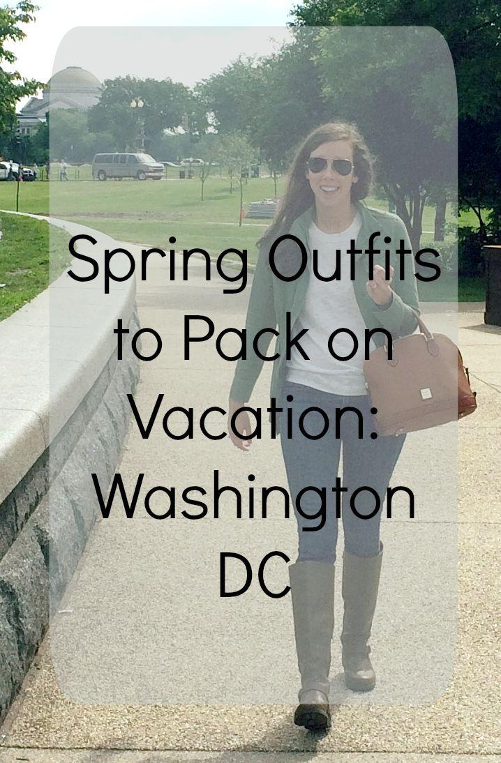 Weekend Trip Outfit List Washington DC