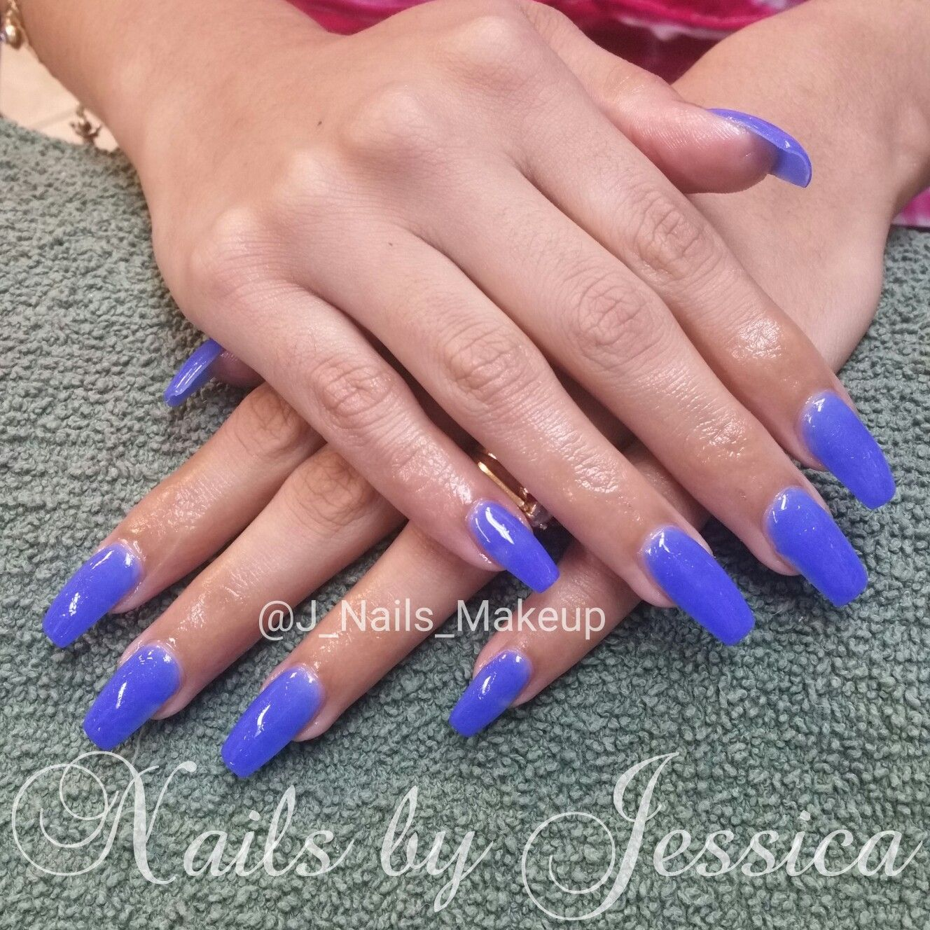 Nexgen dip powder nails. Blue nails | Nails By Yours Truly ...