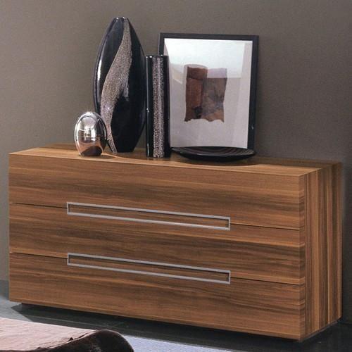 Rossetto Gap Walnut Dresser Las Vegas Furniture Online Lasvegasfurnitureonline