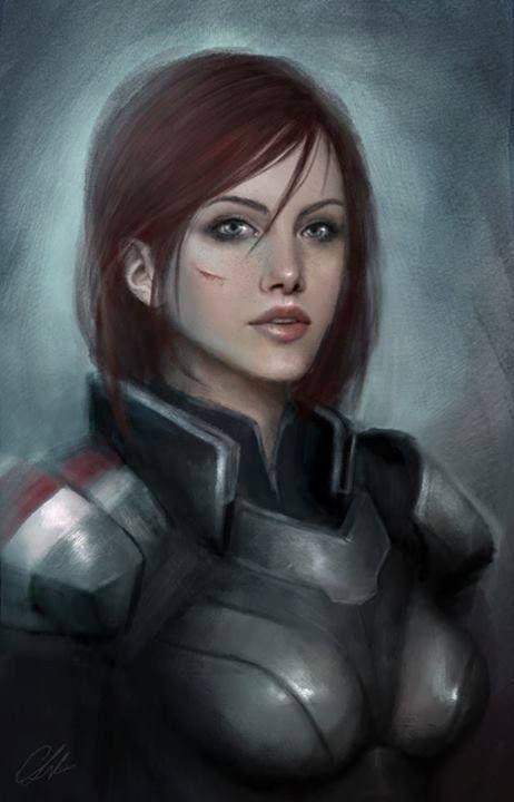 Female Shepard- Mass Effect