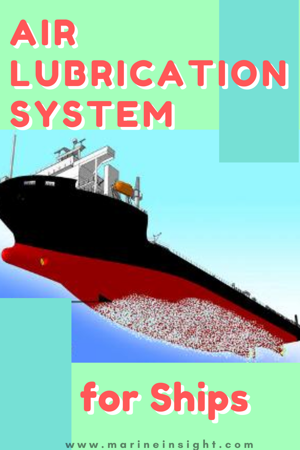 How Air Lubrication System For Ships Works Innovation Technology System Lubricants