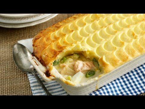 Fish Pie Scored To Look Like Fish Scales Fish Pie Best Fish Pie Recipe Recipes