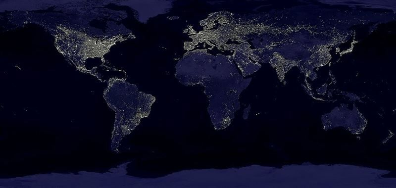 You can see the highly successful and wildly popular  - best of world map at night korean