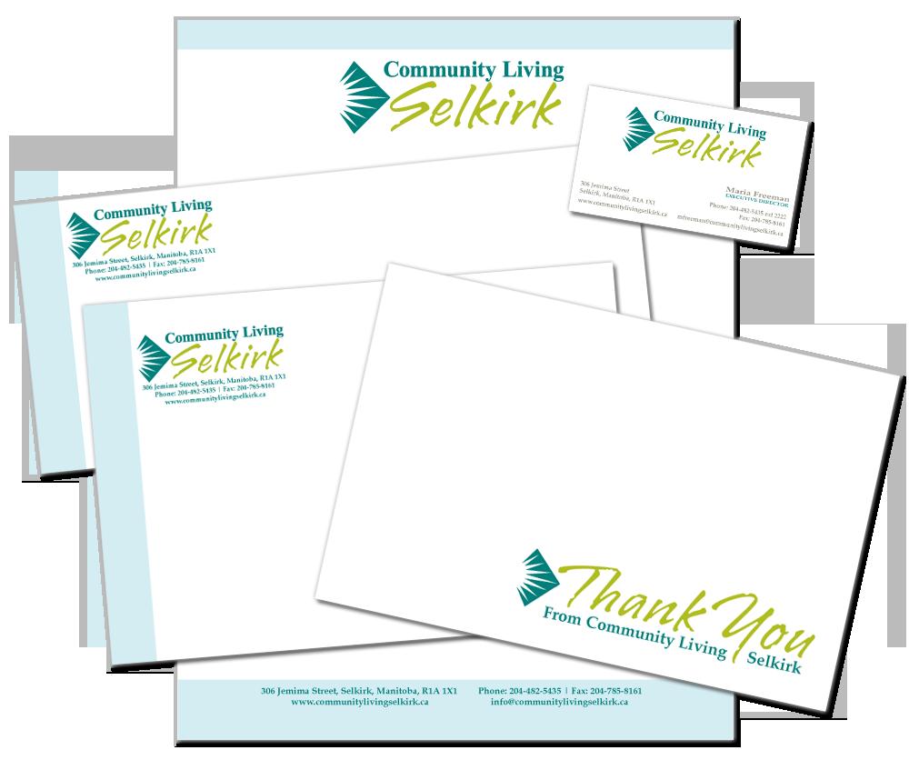 Community Living Selkirk Design Portfolio - Logo, Business Card ...