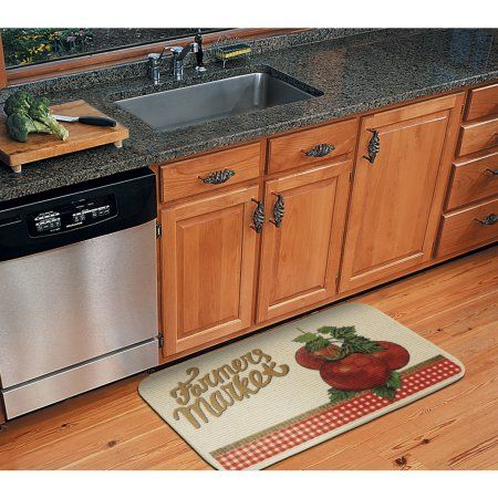 mainstays veggie kitchen rug multicolor - Kitchen Rugs Walmart