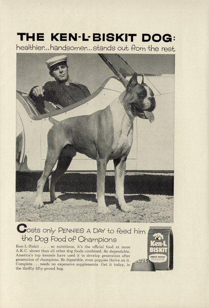 1958 ad - Ken-L Biskit