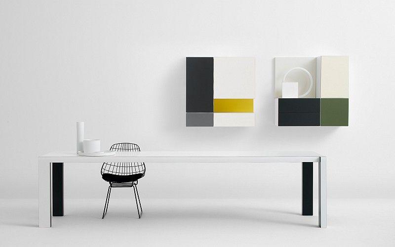 Pastoe - Pastoe Tables: Quadro - VISION_V385_V386_QUADRO. Design: giampaolo babetto - 2004
