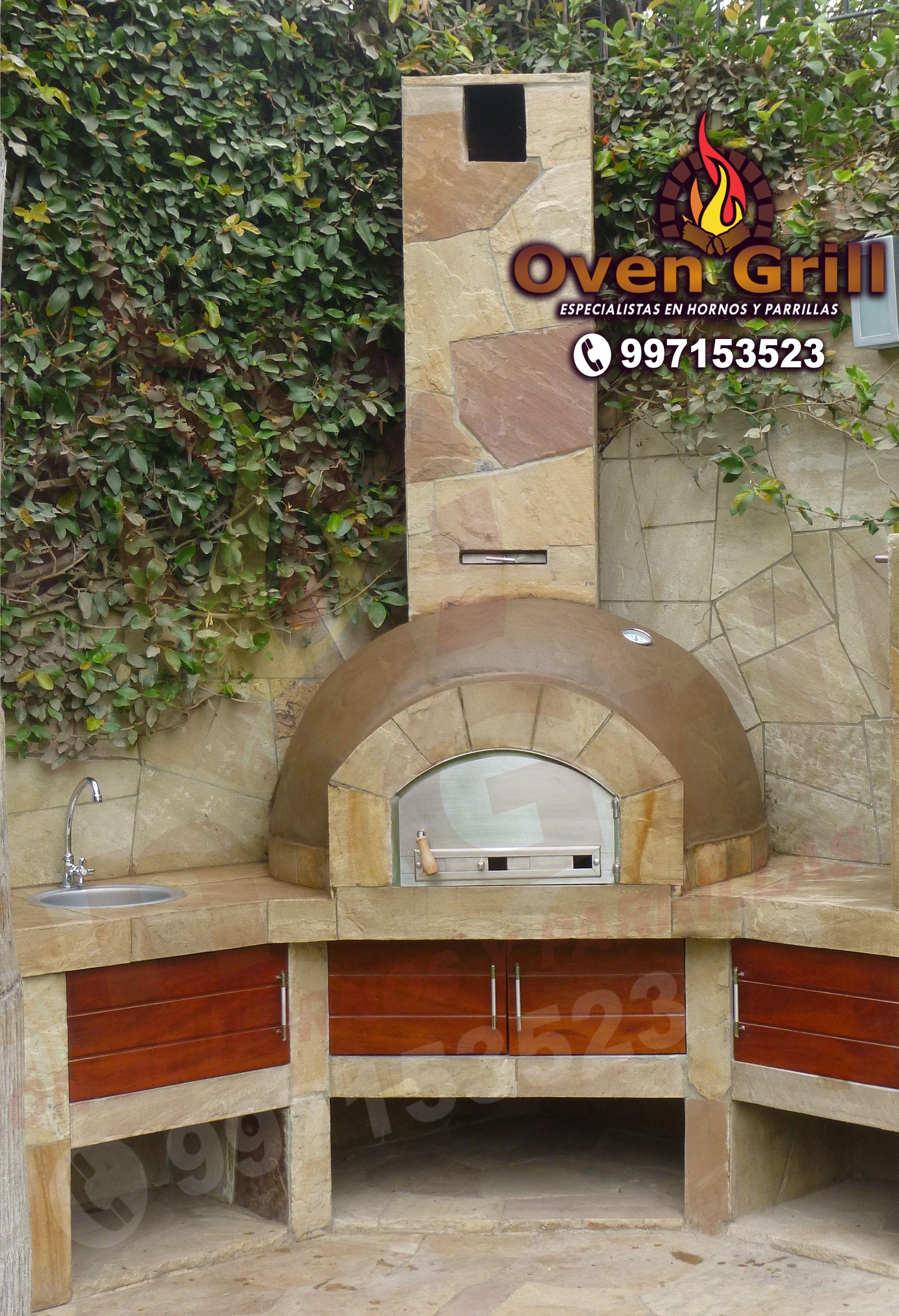28 Outdoor Wood Fired Ovens Help To Jazz Up Your Backyard Time: Chimeneas, Decoracion De Interiores, Decoración De Unas