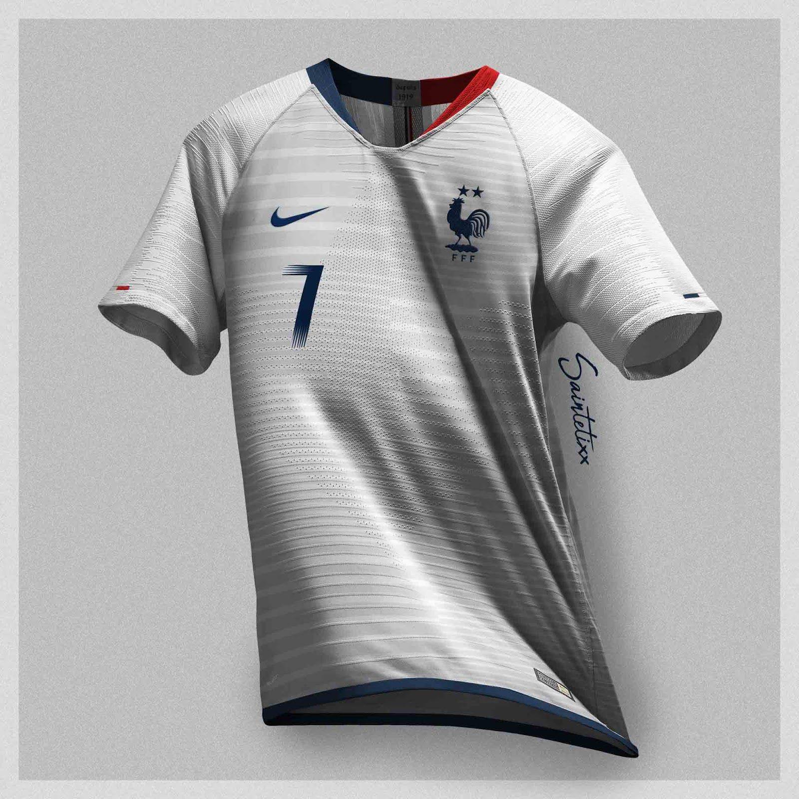 0d10ec901b2 France 2020-22 Concept Kits by Saintetixx - Footy Headlines ...
