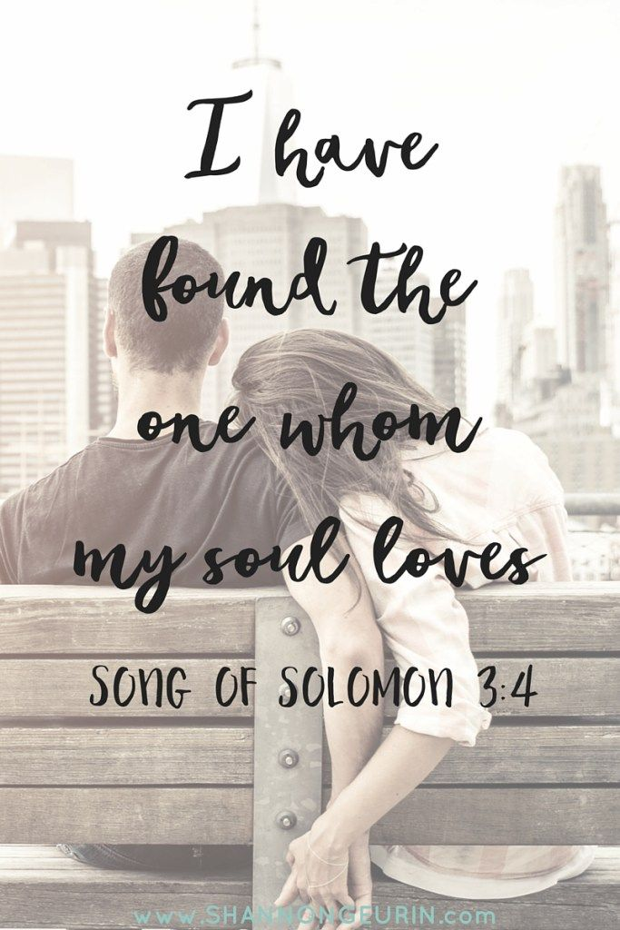 The One Whom My Soul Loves