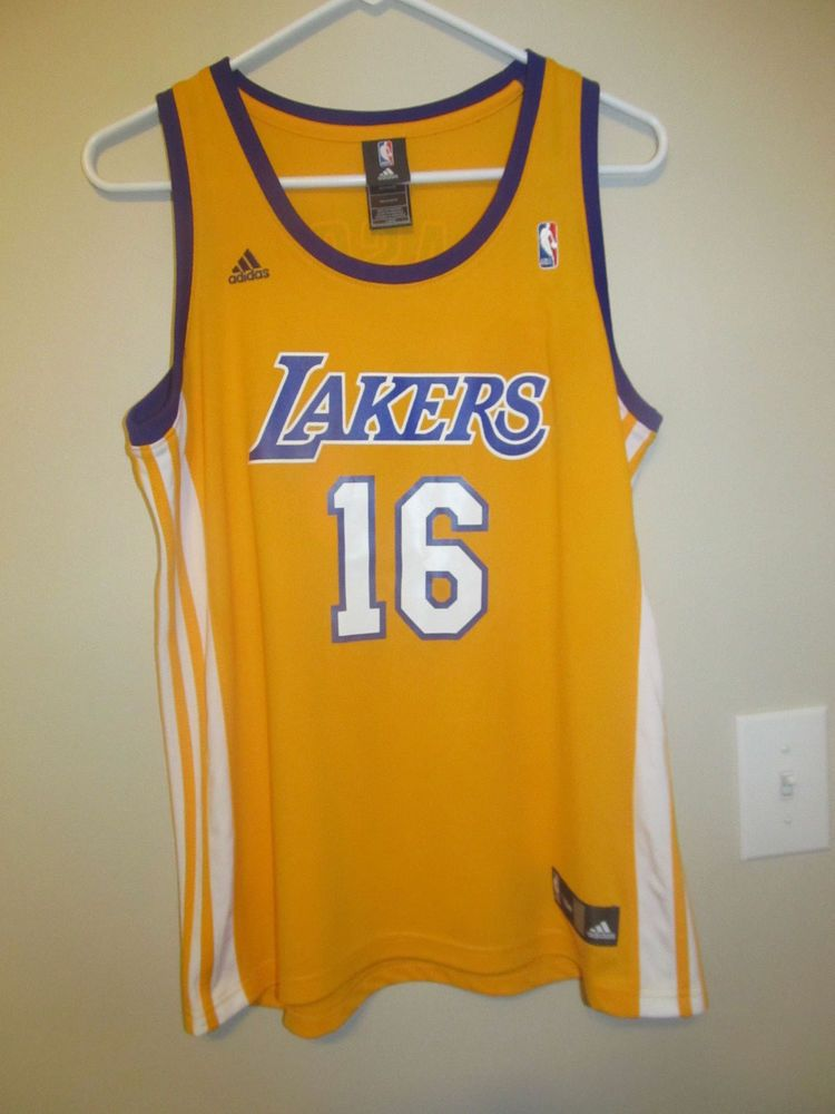 pretty nice 3094d 2f428 Pau Gasol - Los Angeles Lakers jersey - Adidas Youth Large ...