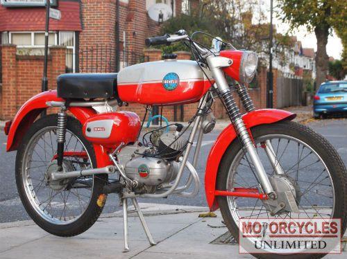 Vintage Moped Garelli 1967 Benelli 50