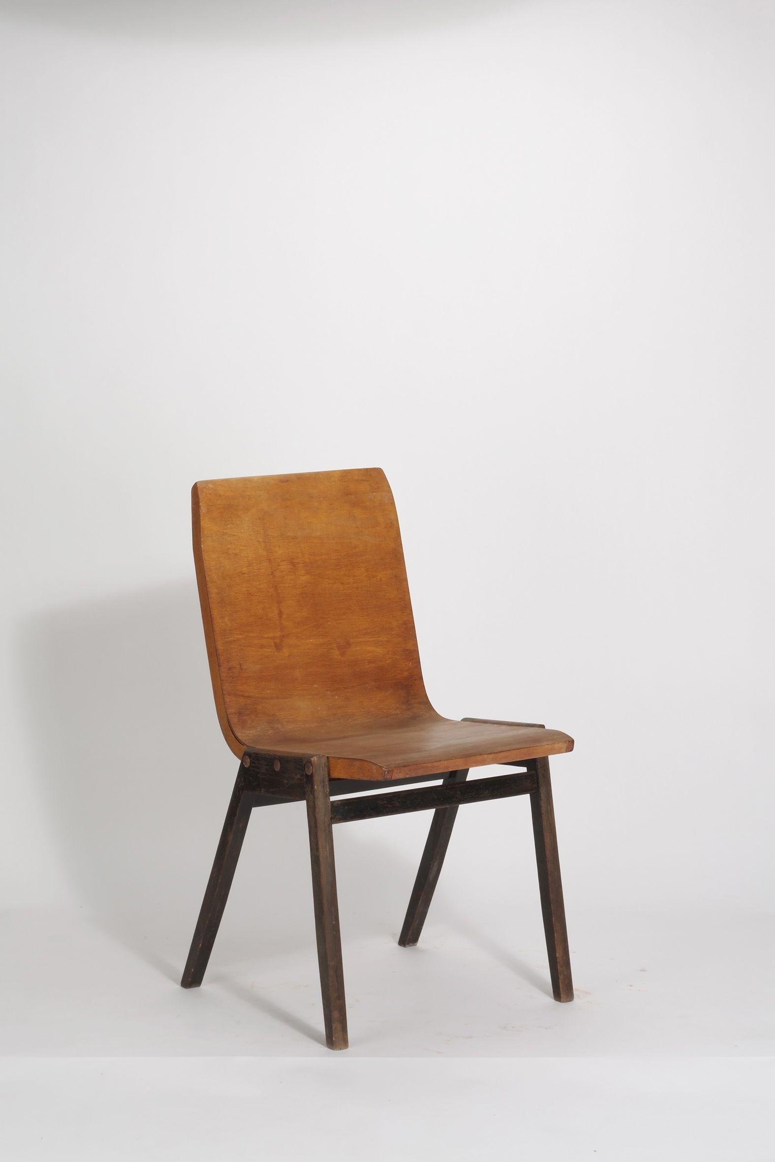 Wood Roland Chair1950Modernes möbeldesign Rainer; Side nwOPXk80