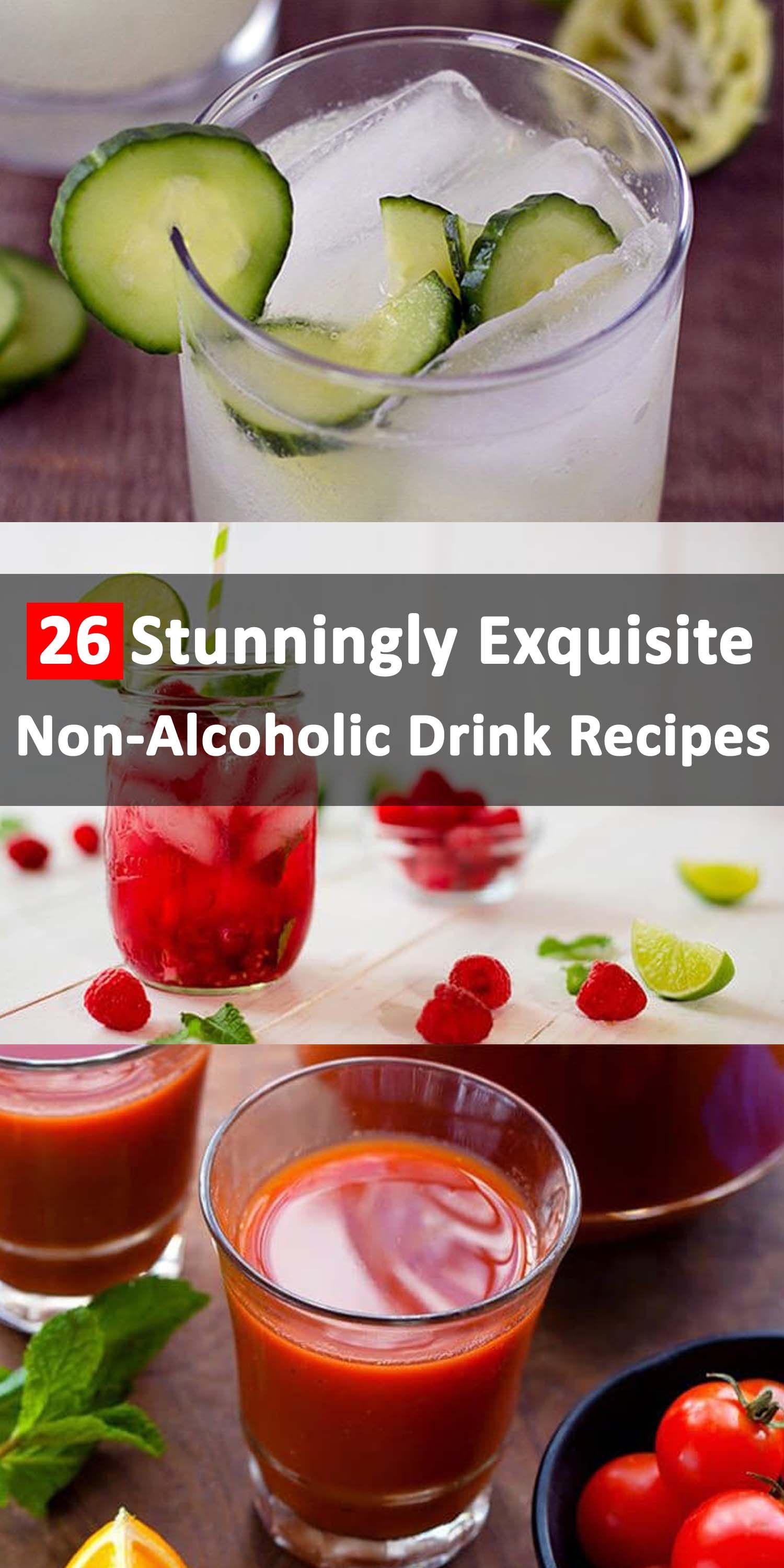 26 Stunningly Exquisite Non Alcoholic Best Drink Recipes With Images Drinks Alcohol Recipes Food And Drink Non Alcoholic Drinks