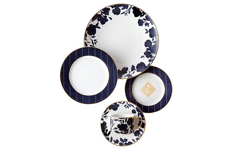 Audrey Dinner Plate Dinner Plates Modern Floral Design Plates