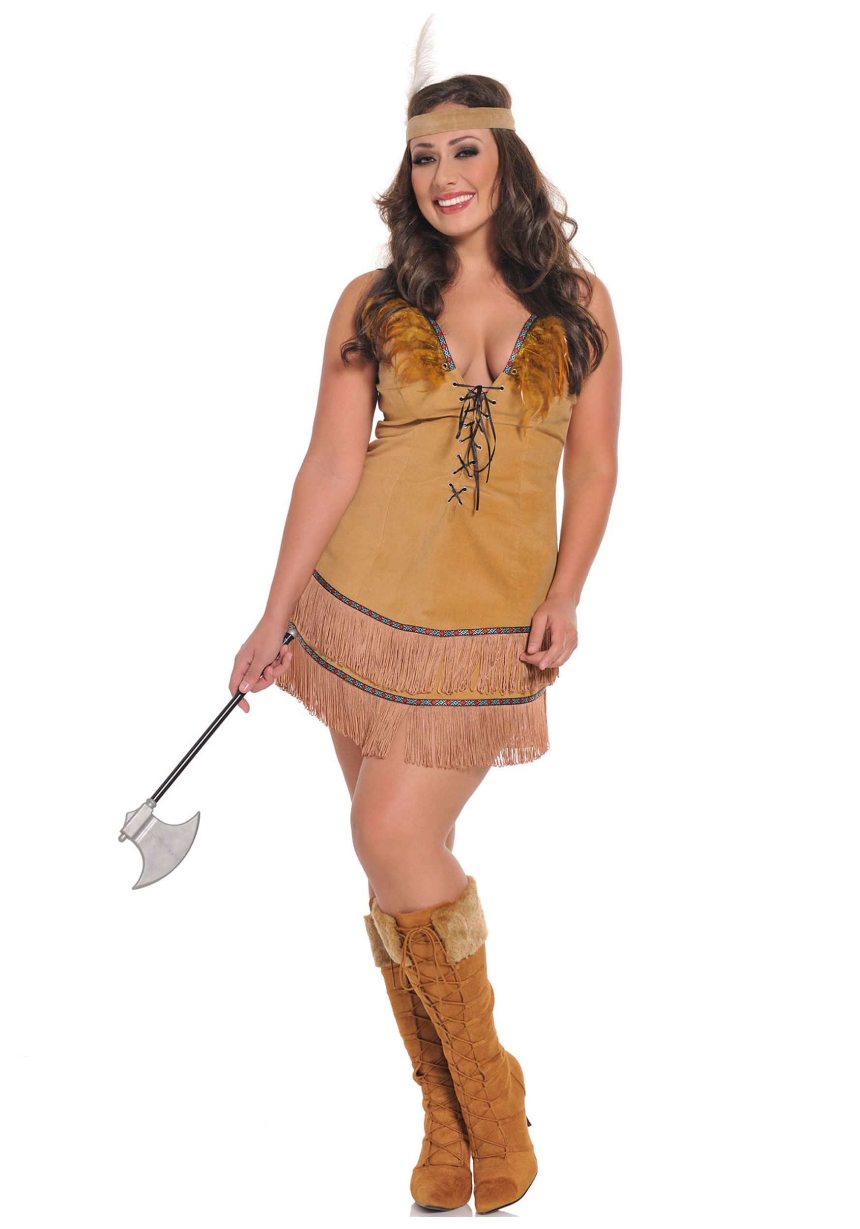 Plus Size Pocahontas Costume  Costumes For The Plus Sized -7853