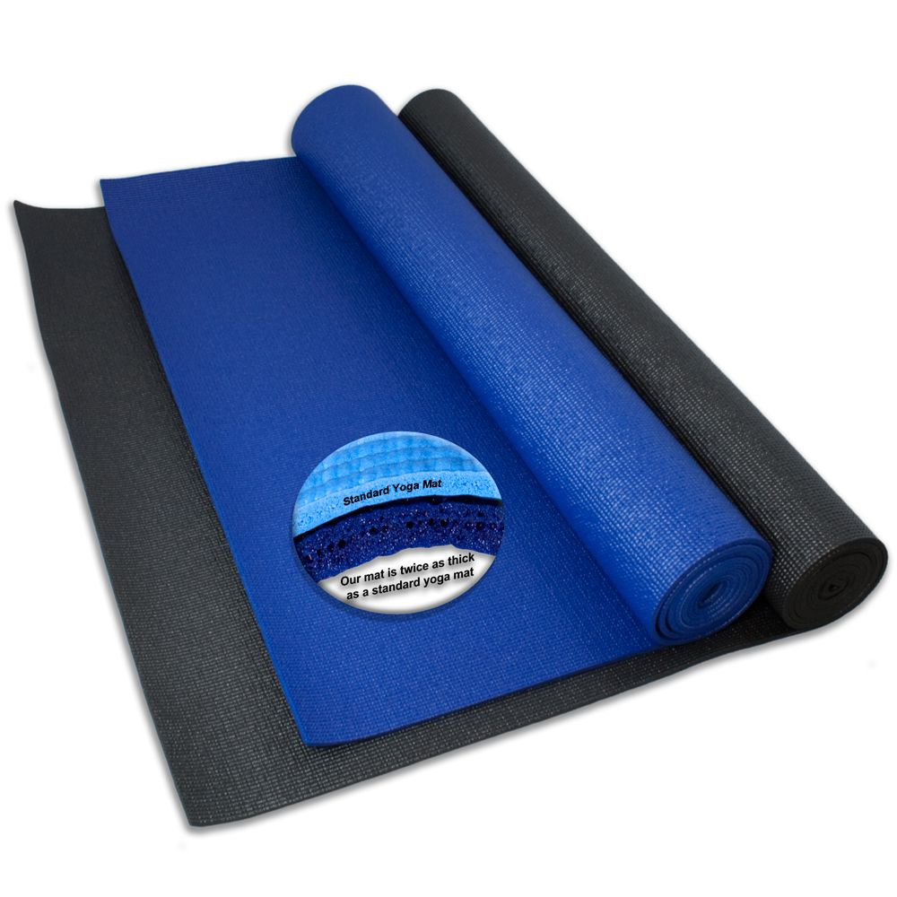 """Extra Large, Extra Long And Wide Yoga Mat (84"""" X 36"""") $23"""