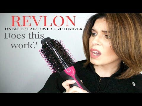 Revlon Oval One Step Hair Dryer Volumizer Does It Work Girlythingsby E Youtube Hair Dryer Revlon Hair Hacks