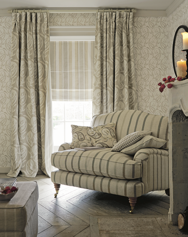 hedgerow a w 2014 laura ashley home collection love the fabric combo but color toooo dull. Black Bedroom Furniture Sets. Home Design Ideas