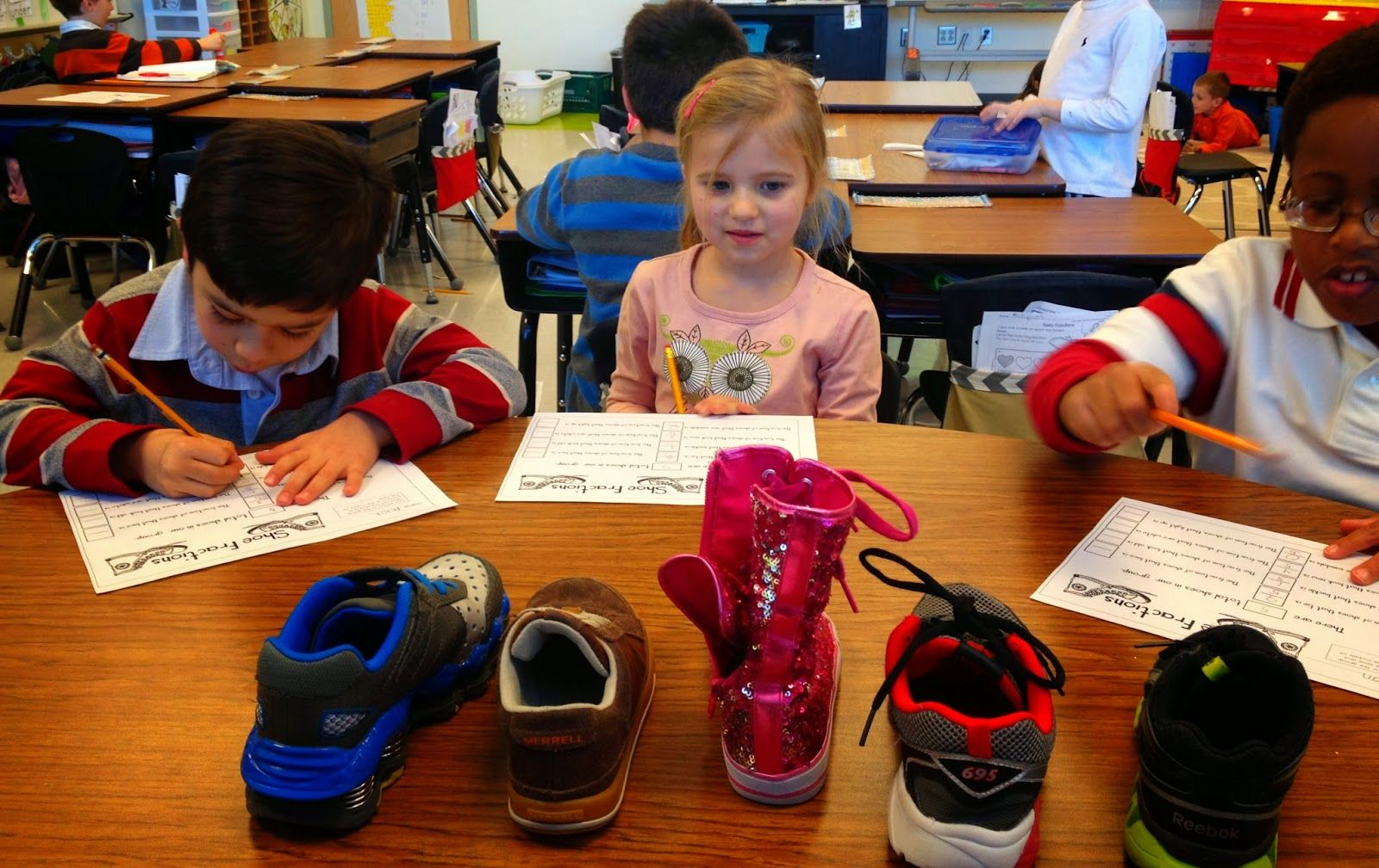 Take off One Shoe...For Fractions!