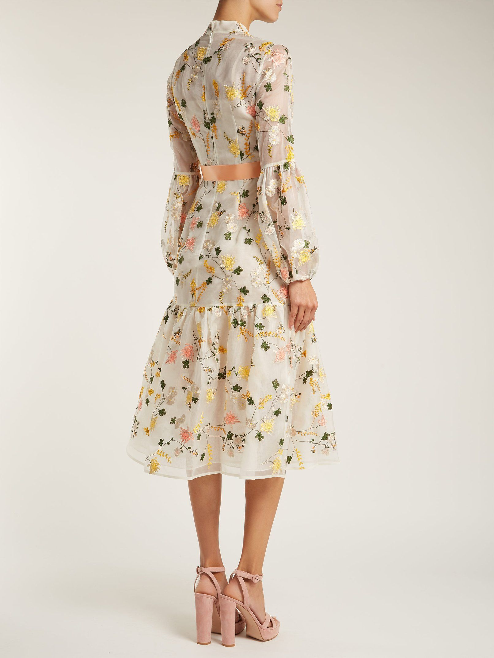 22692d8e892 Sandra floral print organza gown