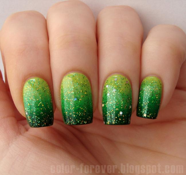 GGG czyli Green - Gradient - Glitter :) w roli głównej Vipera Belcanto 137