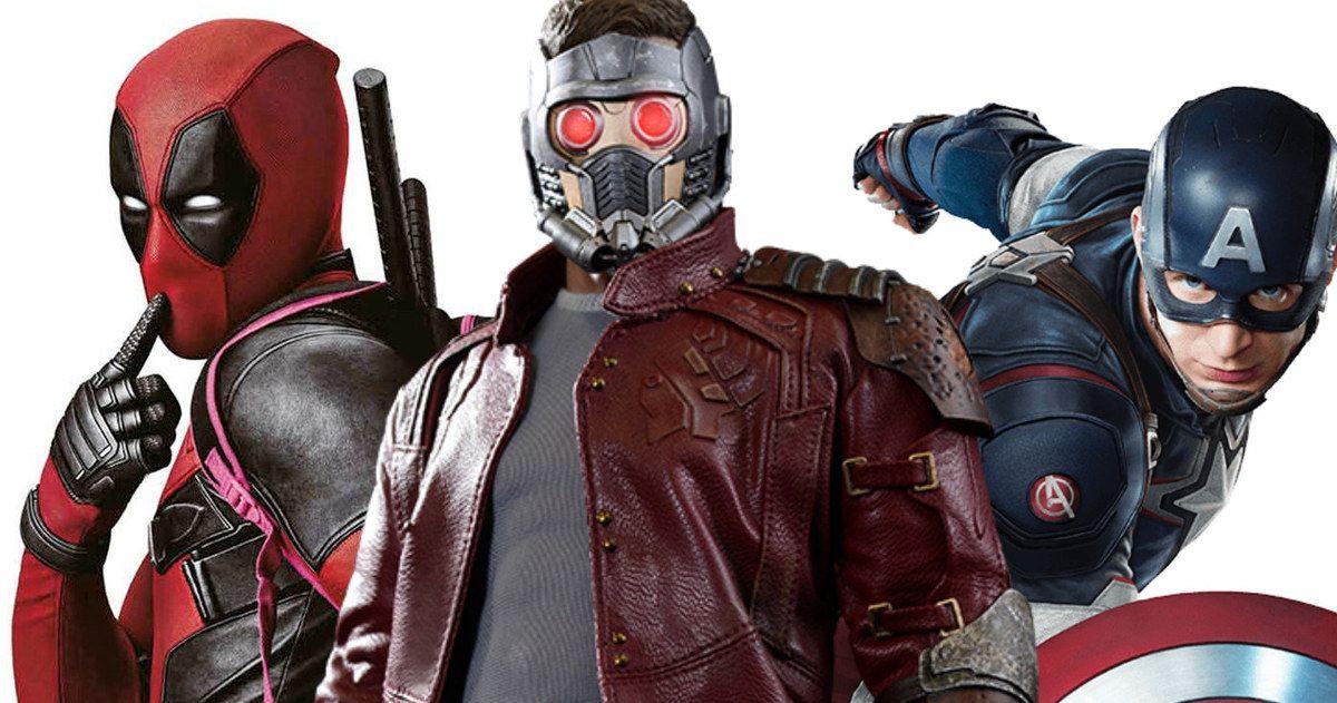 'Deadpool' Earns High Praise from Marvel Stars Chris Evans & Chris Pratt #feig