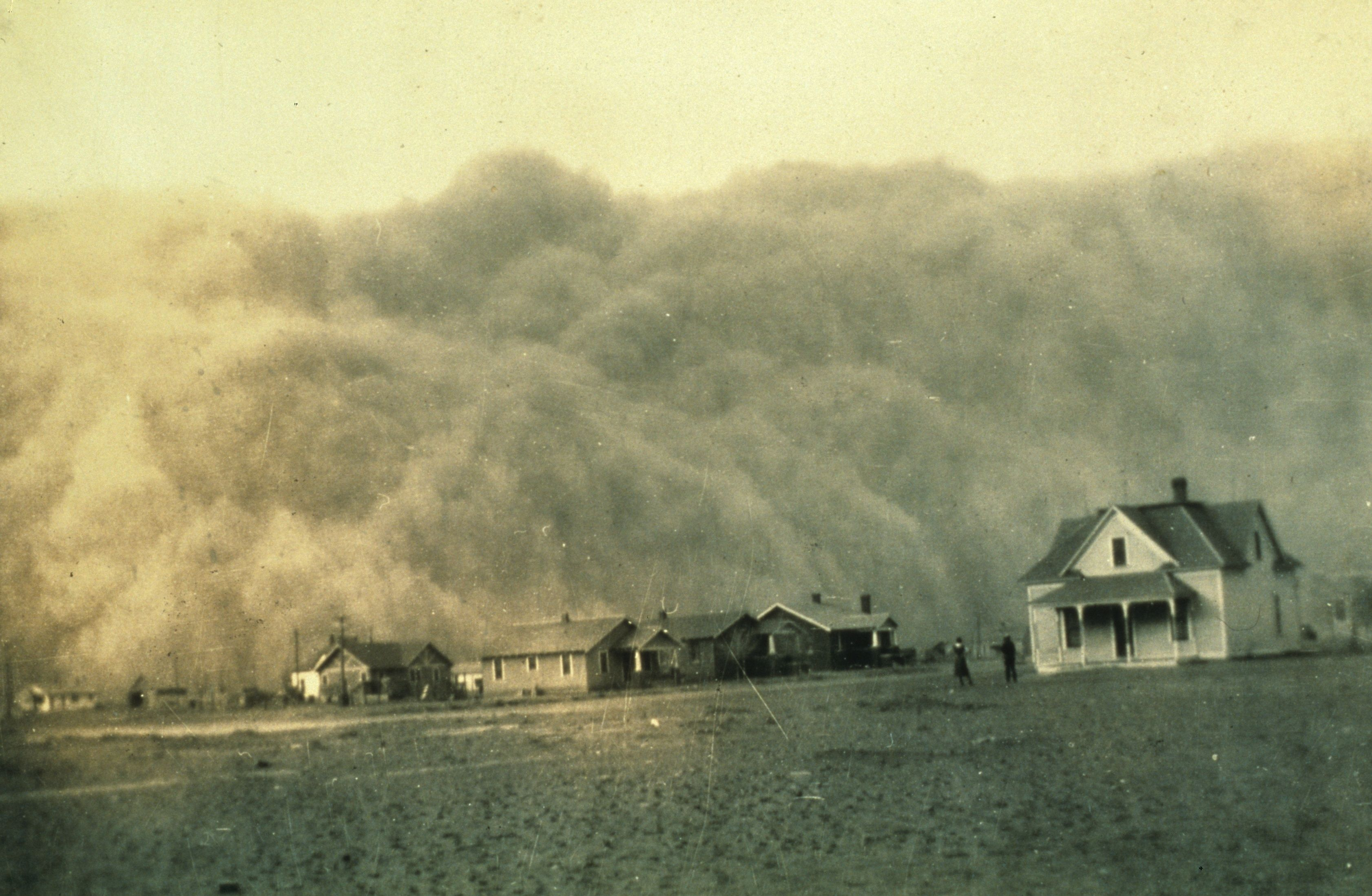 Sample miniDBQ What Caused the Dust Bowl? Dust storm