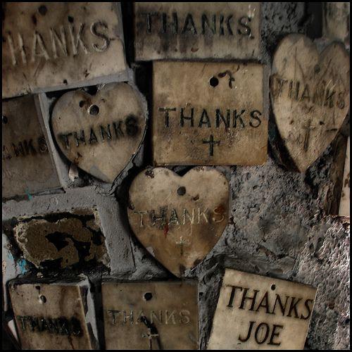 Stone Votives for St Jude, New Orleans