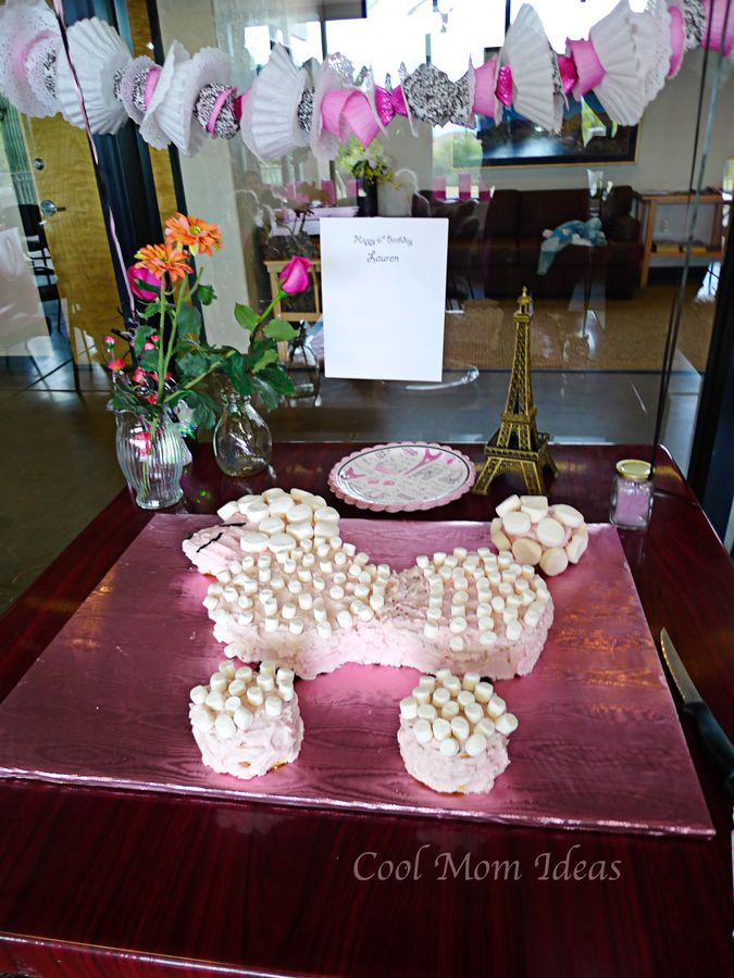 paris party ideas | Pink Poodle in Paris Party Decorations | Cool Mom Ideas for kids ...