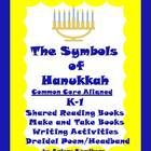 $ This is a Common Core Aligned Thematic Unit about The Symbols of Hanukkah for Grades K-1. Hanukkah lasts for 8 days so this packet can be used on any of the 8 days. It includes 2 Shared Reading Books, 2 Make and Take books at the K and 1st Grade levels for both Shared Reading Books, 2 Writing Activities, Dreidel Poem and Templates  for a Headband.