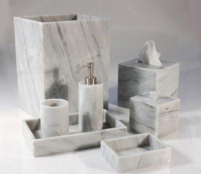 Calacatta Marble Bathroom Accessories Buscar Con Google