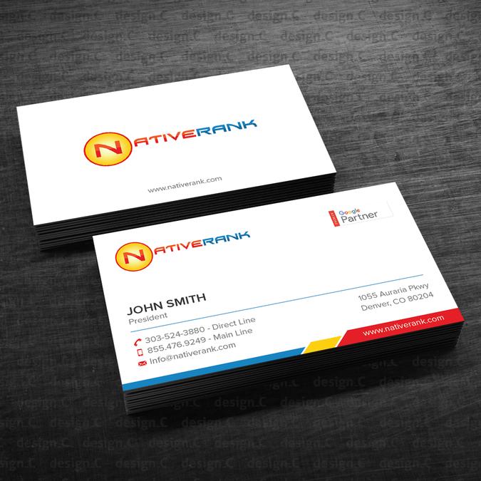 New business cards by designc logo design pinterest business new business cards by designc colourmoves Choice Image