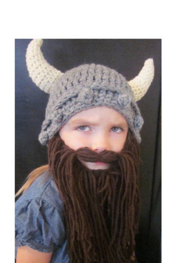 ff77d8aa28b KIDS Viking Hat and Beard