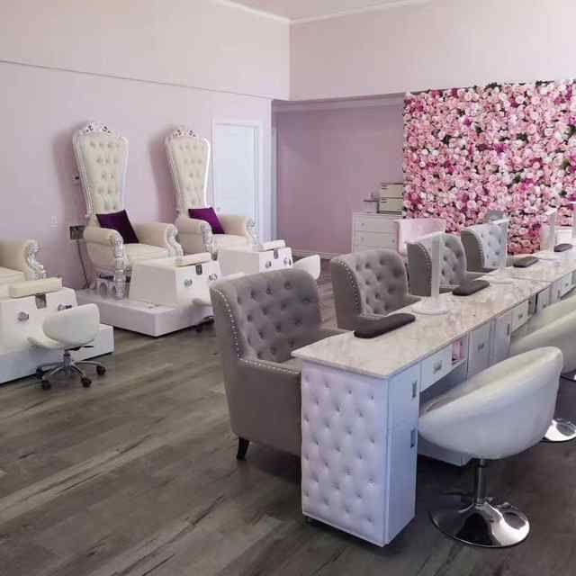 Source Modern Nail Salon Furniture Manicure Station Manicure Table Pedicure Chair On M Alibaba Com In 2020 Home Nail Salon Salon Suites Decor Salon Furniture