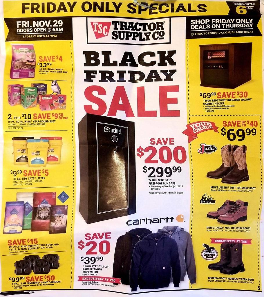 Tractor Supply Black Friday Ad Scan Deals And Sales 2019 Black Friday Ads Black Friday Tractor Supplies